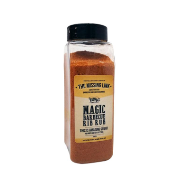 Missing link magic BBQ Rub 700gr.
